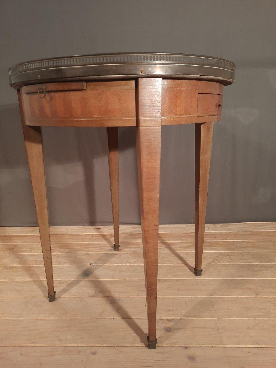 Table bouillotte de style Louis XVI -photo-2