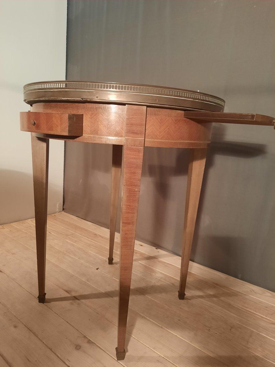 Table bouillotte de style Louis XVI -photo-3