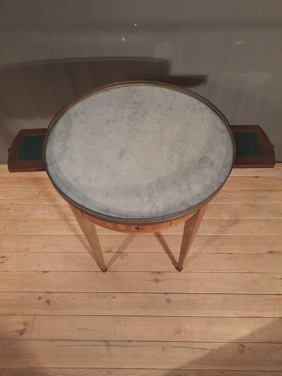 Table bouillotte de style Louis XVI -photo-4
