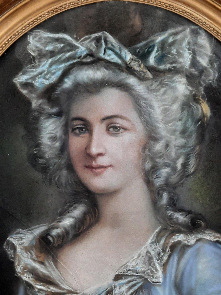 Portrait Of Woman Nineteenth Time.-photo-3