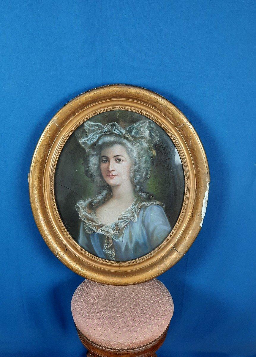 Portrait Of Woman Nineteenth Time.
