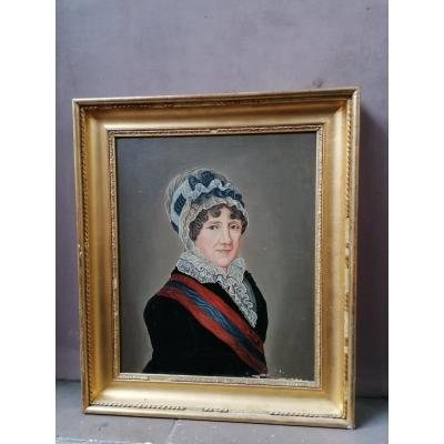 Peinture 19ème. Portrait