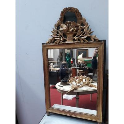 Miroir Louis XVI d'époque XIXème