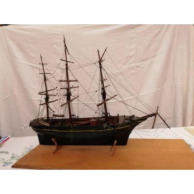 19th Century Wooden Boat