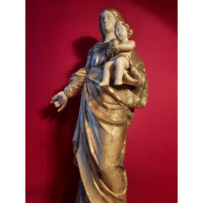 Virgin And Child Of The XIXth