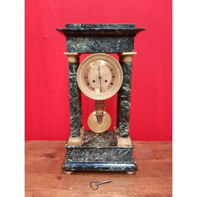 Empire Clock In Marble Nineteenth Time