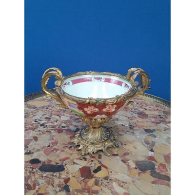 Bol en porcelaine de Canton XIXème.