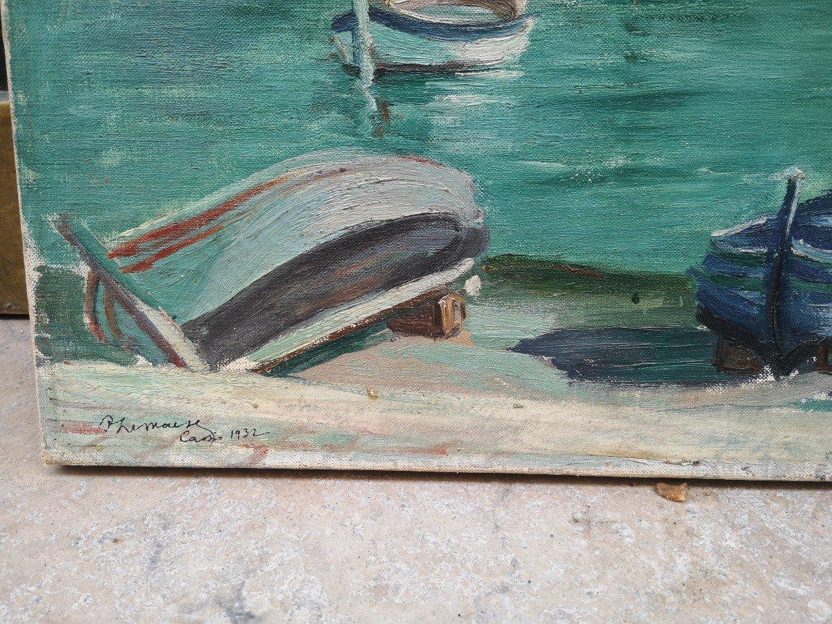 Roger Marcel Limouse (1894 - 1989), Le Port De Cassis 1932 -photo-3