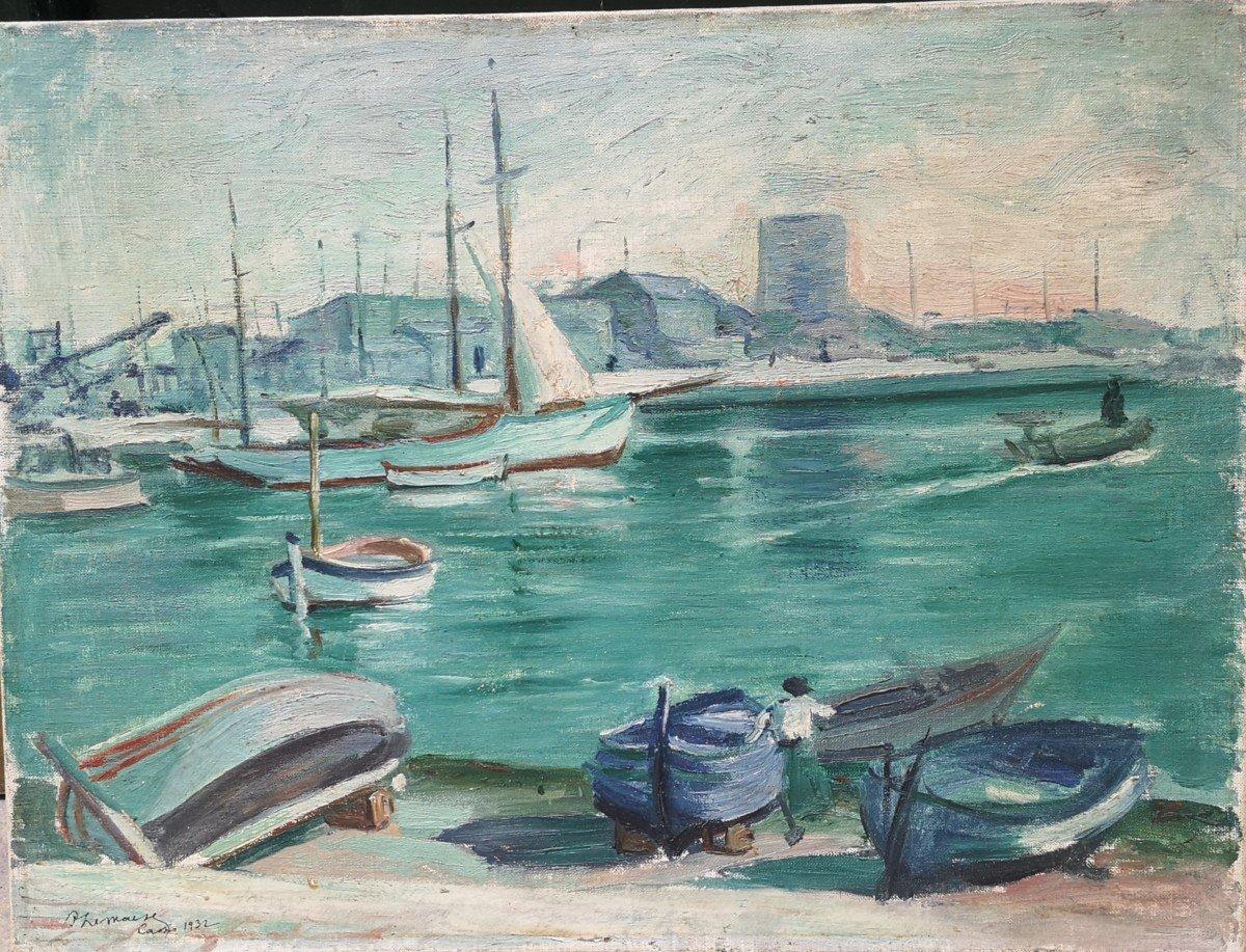 Roger Marcel Limouse (1894 - 1989), Le Port De Cassis 1932