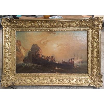 Tableau Marine  1ère Moitié 19eme