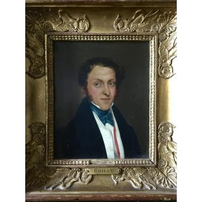 Portrait D'homme Début XIXe Attribué à Boilly