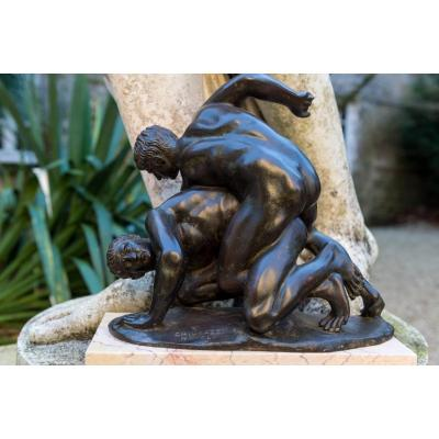 The Wrestlers - Bronze