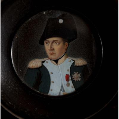Miniature Of Napoleon Bonaparte