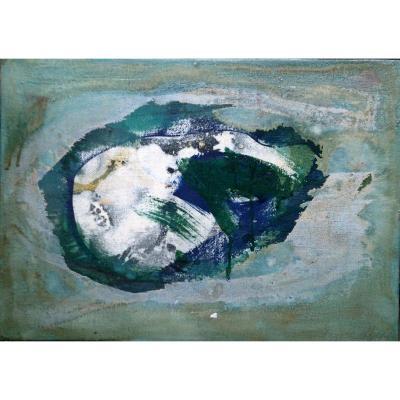 Oil on canvas, 33 x 46cm autographed: Paris 60 for Annette