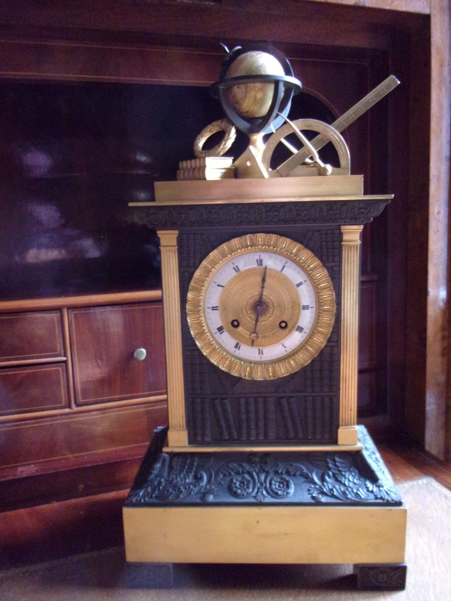 Pendulum Borne Gilt Bronze