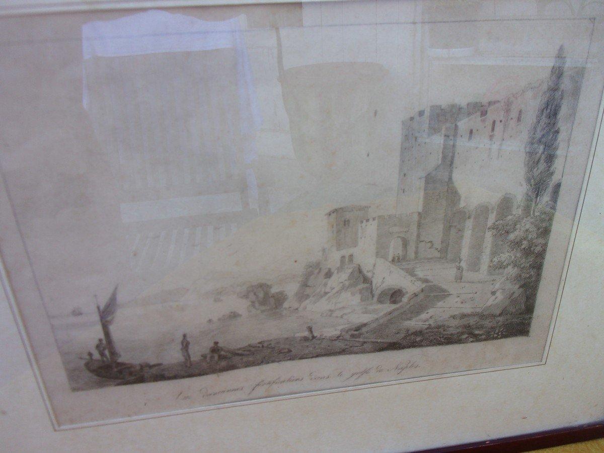 Bay Of Naples Drawing-photo-2