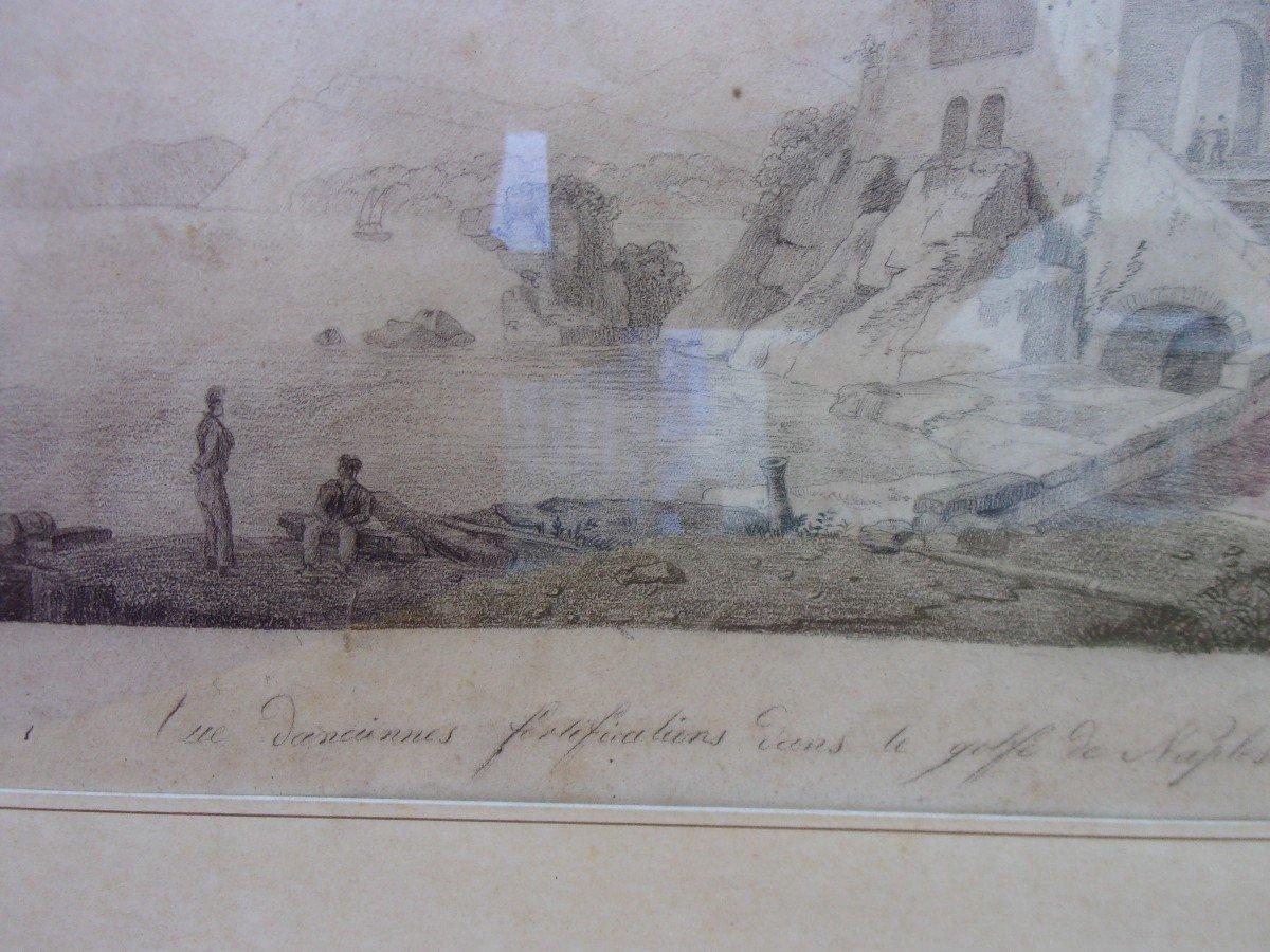 Bay Of Naples Drawing-photo-3