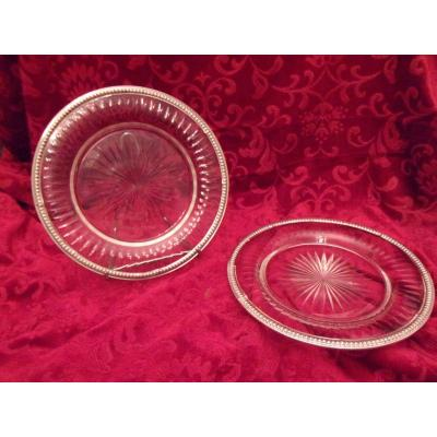 Pair Of Crystal Plates
