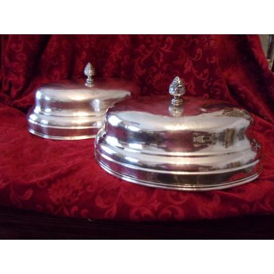 Pair Of Numbered Oval Bells