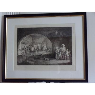 18th Century Etching