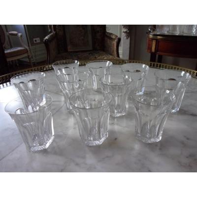 Gobelets Cristal Saint Louis