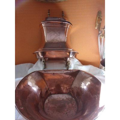 Copper Fountain Mid Nineteenth Century