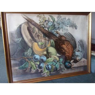 Still Life With Pheasant Signed