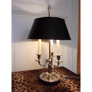 Hot Water Bottle Lamp Silver Bronze