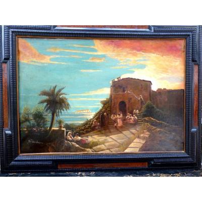 Le Coucher Du Soleil  Oriental 1884
