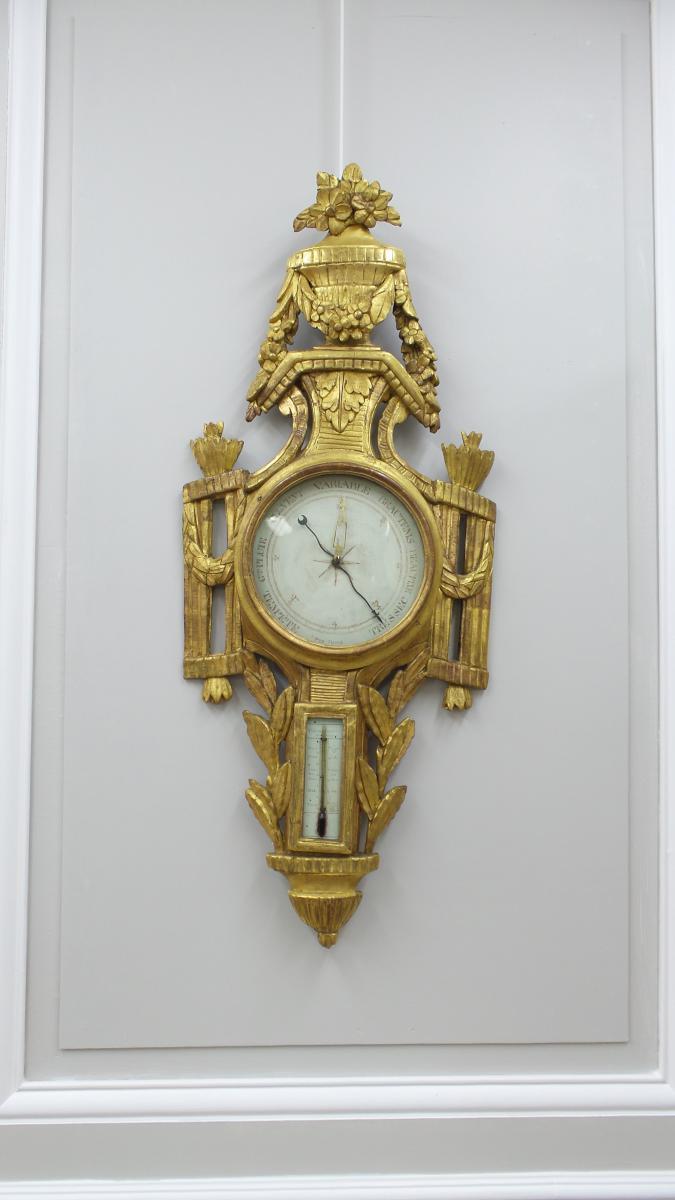 Un Baromètre Louis XVI