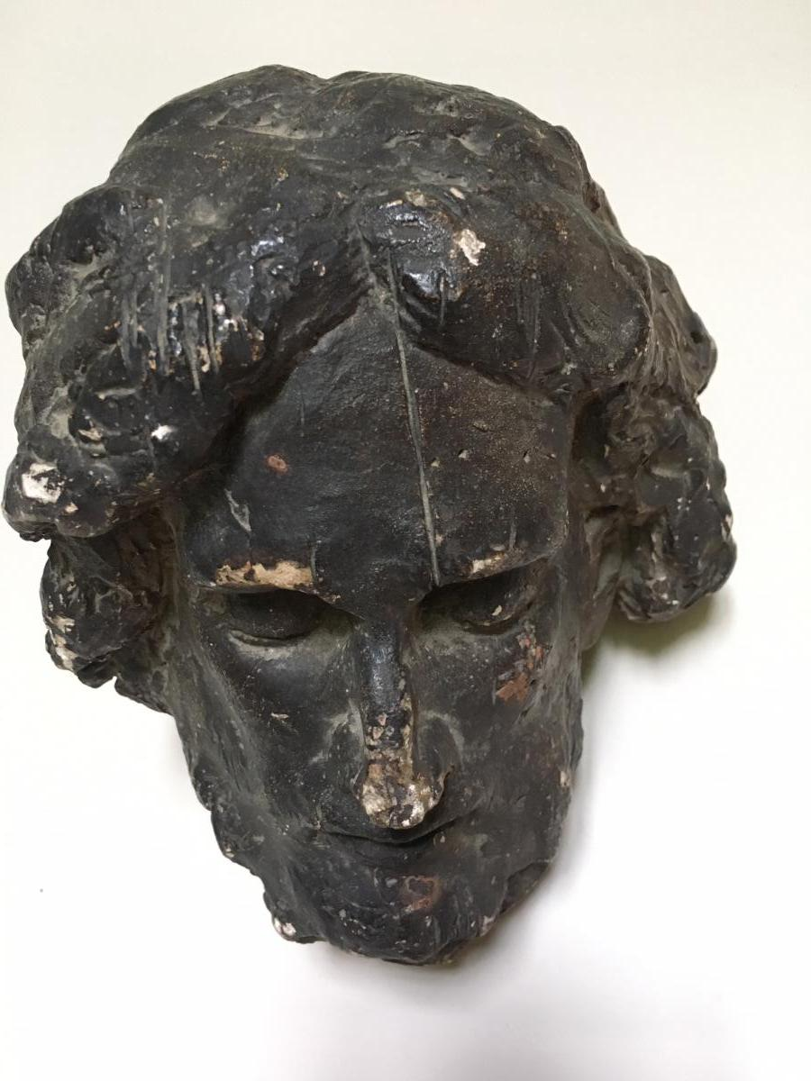 Head Of A Saint In Plaster