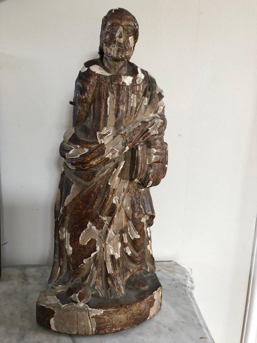 Statue Of A Saint XVIII