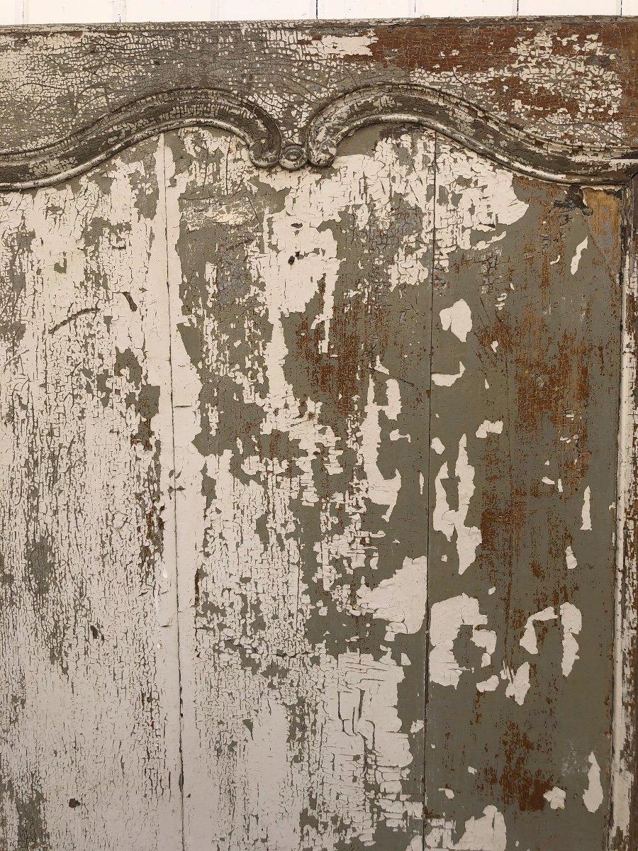 Porte En Chêne XVIII ème -photo-3