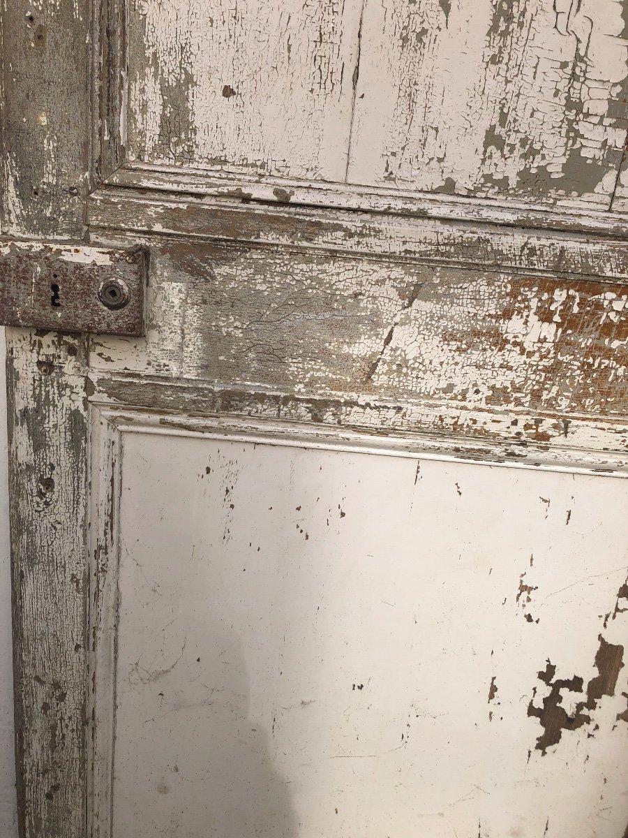 Porte En Chêne XVIII ème -photo-4
