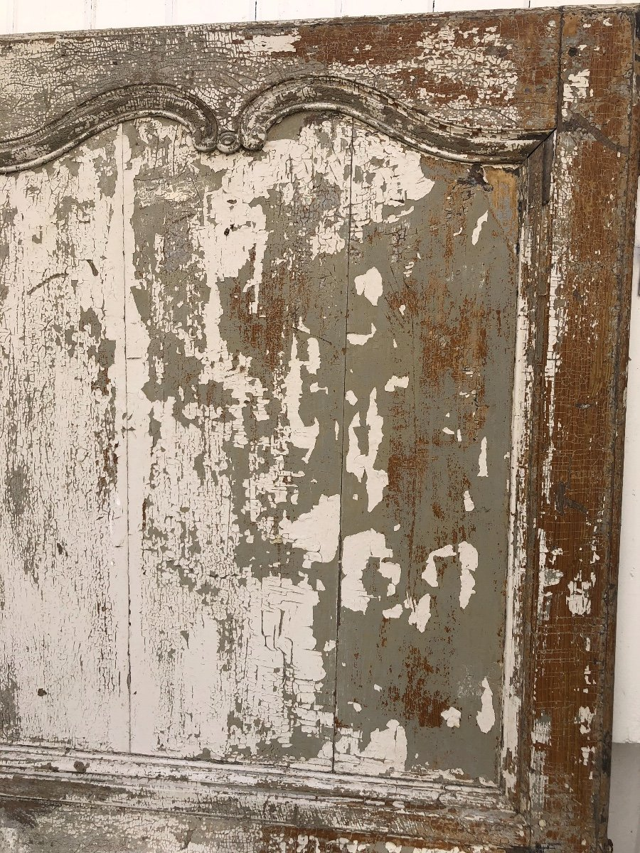 Porte En Chêne XVIII ème -photo-1
