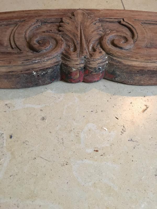 Fireplace Front In Louis XV Oak-photo-4