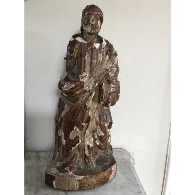 Statue D'un Saint  XVIII ème