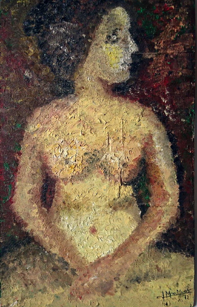 Nu Matiériste, Jean Marc Murati 1972