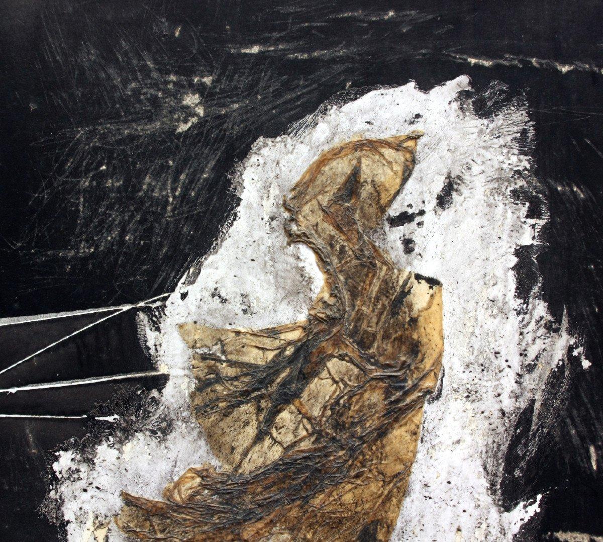 Tableau d'Art Brut Par Pierre Carbonnel-photo-3