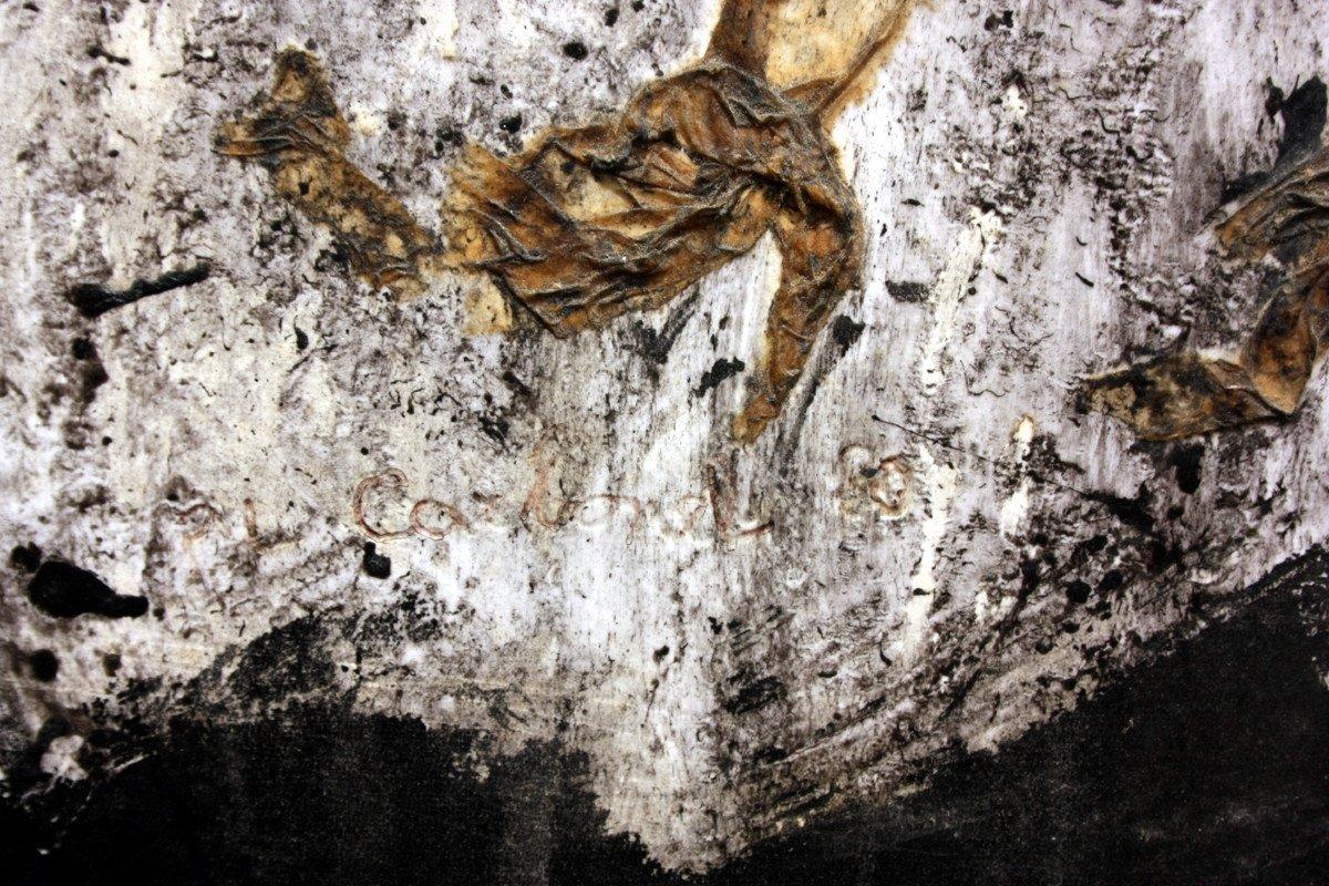 Tableau d'Art Brut Par Pierre Carbonnel-photo-1