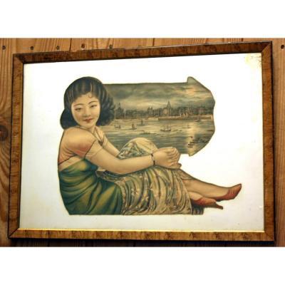 Chinese Mirror 1930