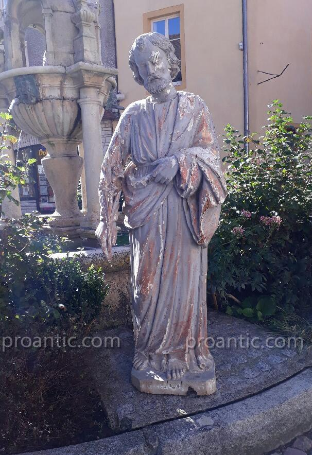 Sculpture Saint Joseph Fin 18ème