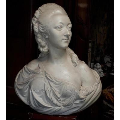 Buste  De  La  Comtesse  Du  Barry  Epoque  Fin  18ème