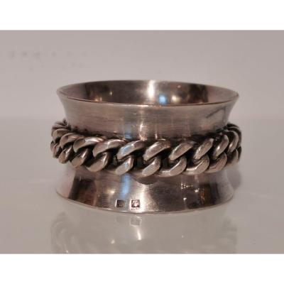 Napkin Ring By Jean Despres.