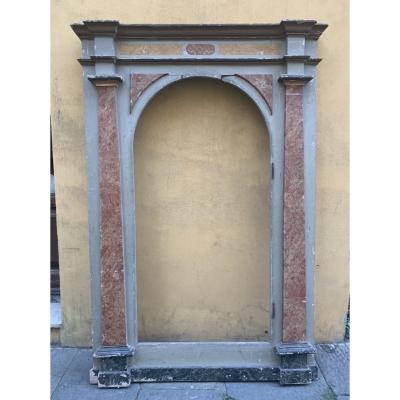 Italian Portal From The Marche Region, Eighteenth Century