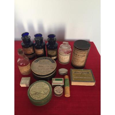 Lot Of Pharmacy Boxes
