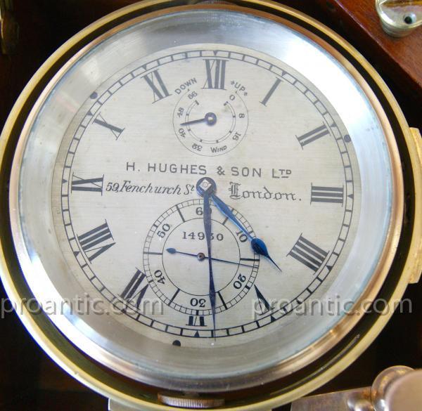 Chronomètre De Marine H. Hughes & Son Ltd, Fenchurch