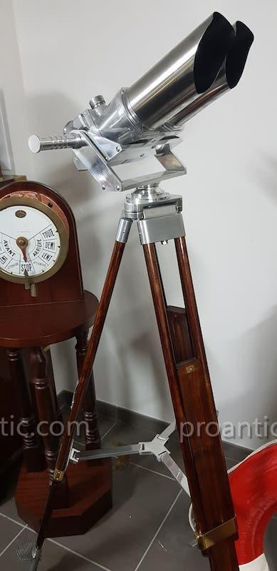 Jumelles Sémaphorique d'Observation  Allemande  Df 10 X 80 Ww2