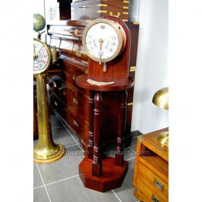 Ancien Répétiteur d'Ordres Machine A Métayer Circa 1900
