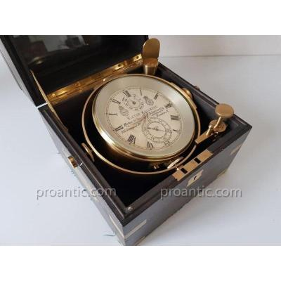 Victor Kullberg Marine Chronometer N ° 6625 End 19 Th Century